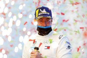 Stoffel Vandoorne, Mercedes-Benz EQ, 1st position.
