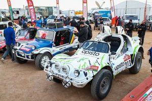 #213 Team Sunhill Buggy: Frédéric Verdaguer, Julie Verdaguer