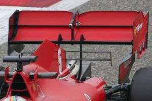Ferrari SF1000 rear wing detail