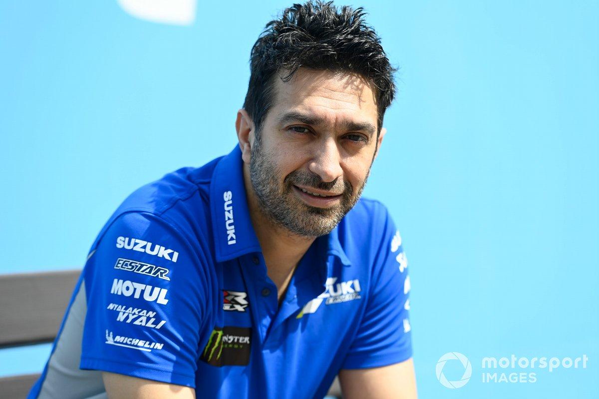 Frankie Carchedi, Team Suzuki MotoGP