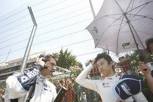 Kazuki Nakajima, Williams FW29