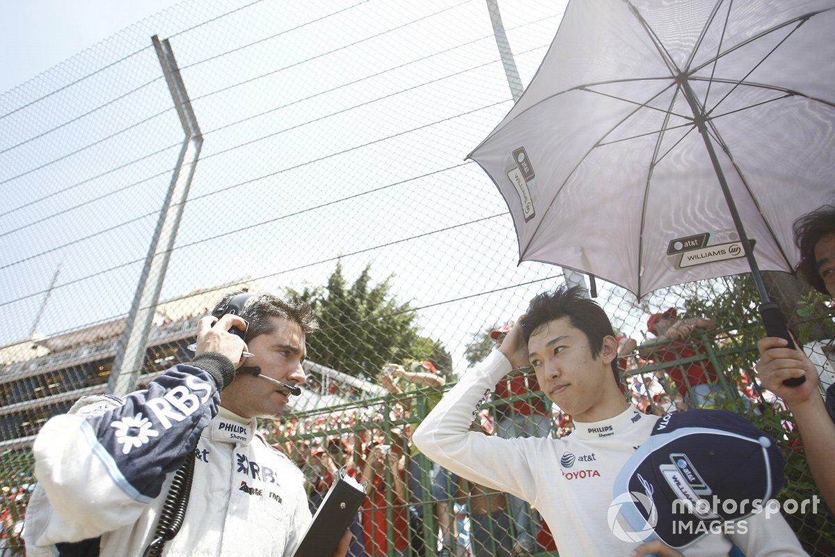 中嶋一貴(2007年ブラジルGP)