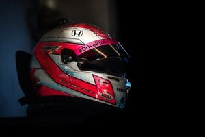 Casque de Jack Harvey, Meyer Shank Racing Honda
