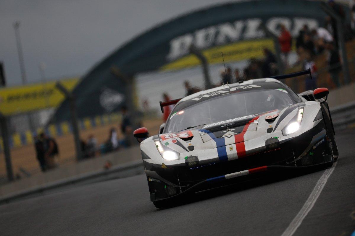 #83 AF Corse Ferrari 488 GTE EVO LMGTE Am, FranÁois Perrodo, Nicklas Nielsen, Alessio Rovera