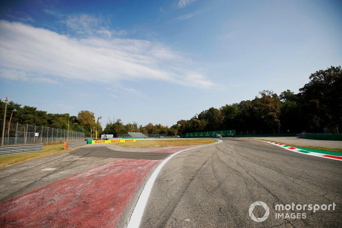Vista de la pista de Monza.