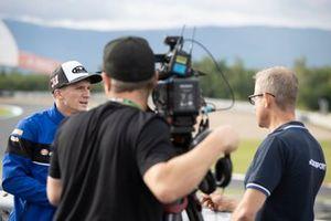 Garrett Gerloff, GRT Yamaha WorldSBK Team, mit James Whitam