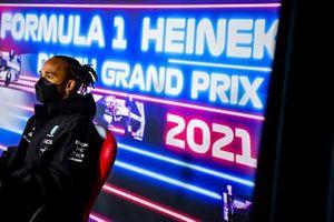 Lewis Hamilton, Mercedes in conferenza stampa