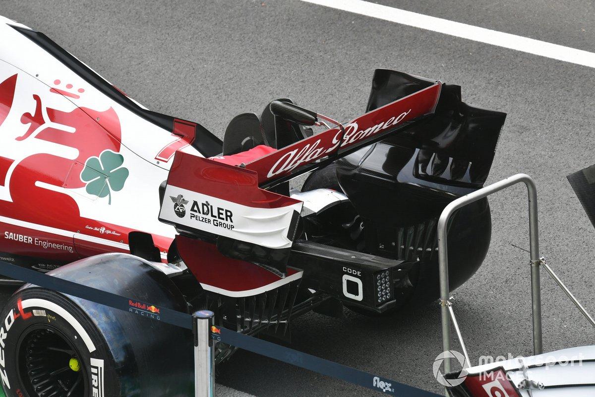 Tech Detail Alfa Romeo Racing C41