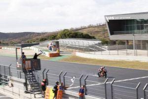 Scott Redding, Aruba.It Racing - Ducati crossing the line to take second