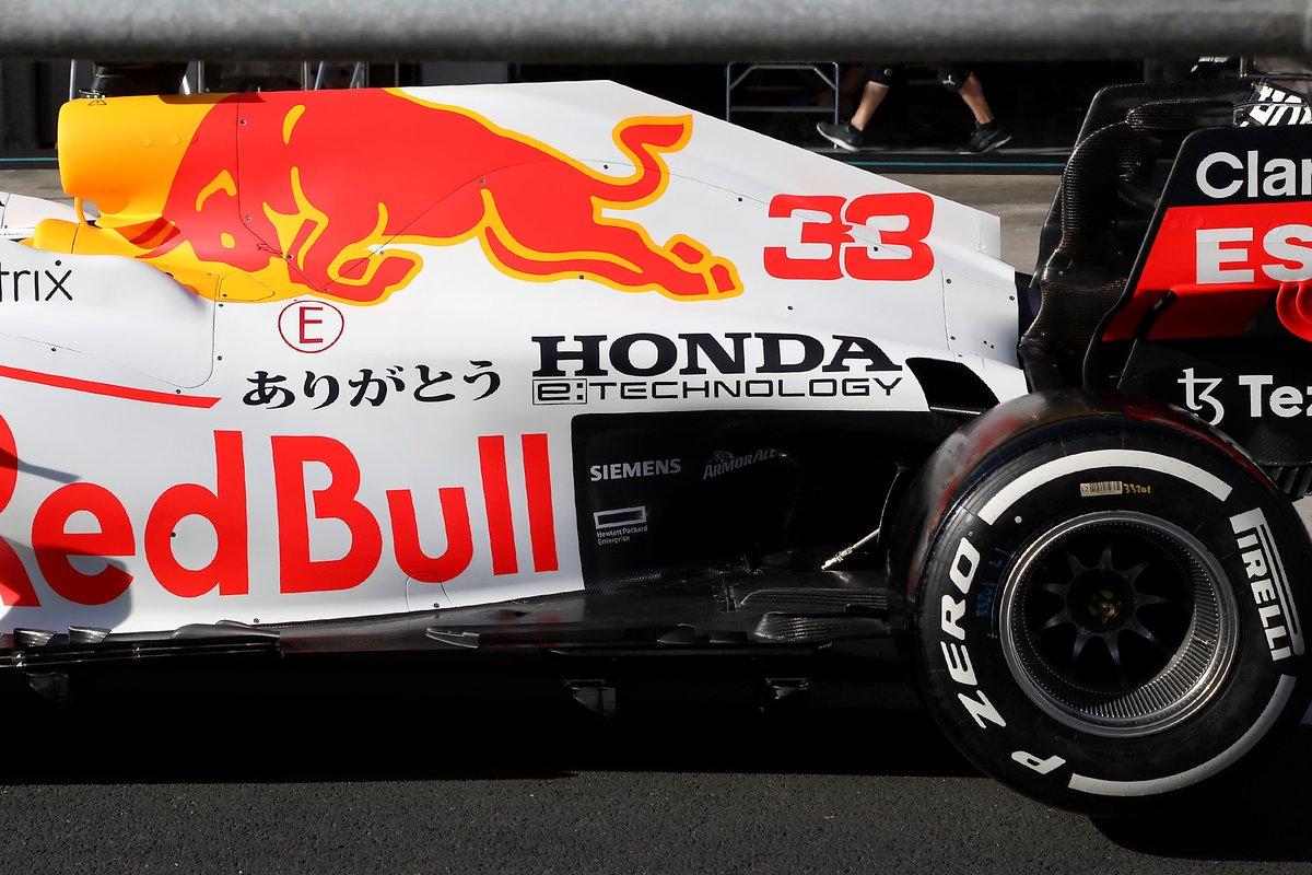 Red Bull RB16B: Motorhaube mit Unterboden