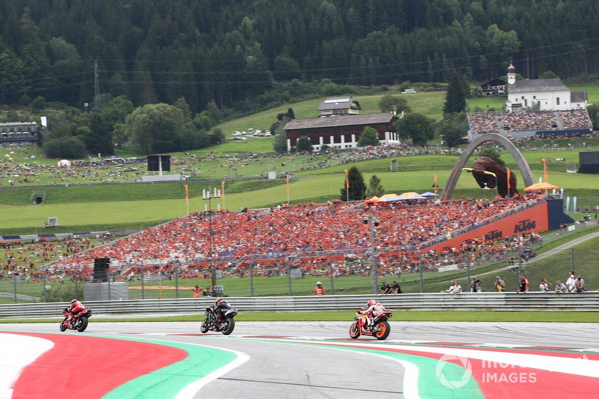 Francesco Bagnaia, Ducati Team Fabio Quartararo, Yamaha Factory Racing Marc Marquez, Repsol Honda Team
