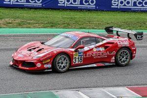 #318 Best Lap, Ferrari 488 Challenge Evo: Maurizio Pitorri, Gianluigi Simonelli
