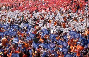 Tifosi al GP d'Olanda