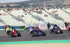 Lucas Mahias, Kawasaki Puccetti Racing, Kohta Nozane, GRT Yamaha WorldSBK Team, Christophe Ponsson, Gil Motor Sport - Yamaha