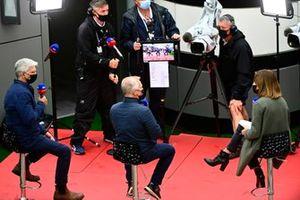 Damon Hill, and Johnny Herbert, Sky Sports F1