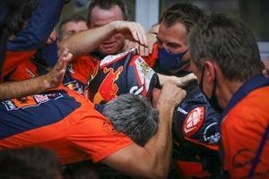Le vainqueur Brad Binder, Red Bull KTM Factory Racing