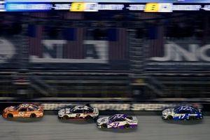 Brad Keselowski, Team Penske, Ford Mustang Discount Tire and Ryan Preece, JTG Daugherty Racing, Chevrolet Camaro Viva
