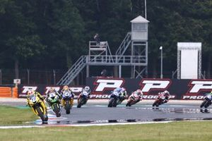Dominique Aegerter, Ten Kate Racing Yamaha, Philipp Oettl, Kawasaki Puccetti Racing, Steven Odendaal, Evan Bros. WorldSSP Team