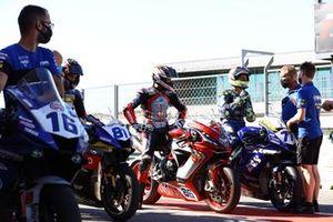 Manuel Gonzalez, Yamaha ParkinGO Team, Niki Tuuli, MV Agusta Corse Clienti, Dominique Aegerter, Ten Kate Racing Yamaha