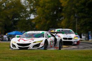 #44: Magnus con el Acura NSX GT3 de Arcángel, GTD: John Potter, Andy Lally