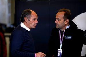 Gerhard Berger und Amato Ferrari