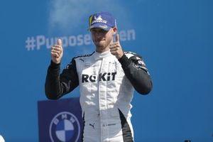 Podio: segundo lugar Edoardo Mortara, Venturi Racing