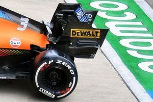 McLaren MCL35M rear
