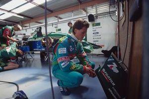 Jordan van Michael Schumacher uit de GP van België 1991