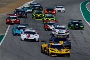 Le départ, #3: Corvette Racing Corvette C8.R, GTLM: Antonio Garcia, Jordan Taylor