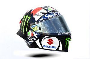 Helm van Joan Mir, Team Suzuki MotoGP