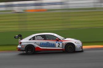 Mariano Costamagna, Jimmy Ghione, Ferruccio Fontanella, Audi RS 3 LMS TCR