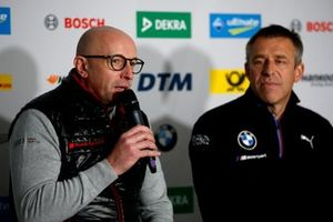 Press Conference, Vincent Vosse, Team principal Audi Sport Team WRT, Bart Mampaey, team principal, BMW Team RBM