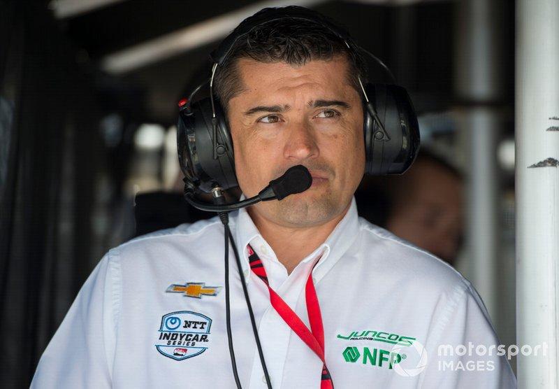 Владелец Juncos Racing Chevrolet Риккардо Хункос