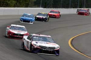 Denny Hamlin, Joe Gibbs Racing, Toyota Camry FedEx Office Brad Keselowski, Team Penske, Ford Mustang Wabash National