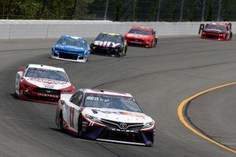 Denny Hamlin, Joe Gibbs Racing, Toyota Camry FedEx Office Brad Keselowski, Team Penske, Ford Mustang Wabash National