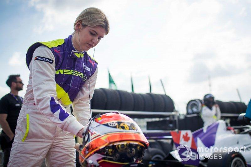 Эсми Хоки (9 место в квалификации, 12-е в гонке)