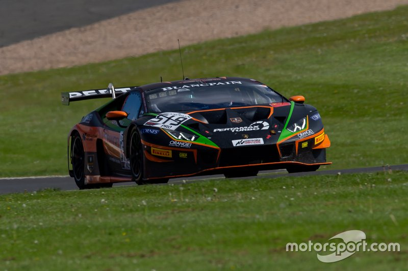 #519 Orange 1 FFF Racing Team Lamborghini Huracan GT3 2019: Franck Perera, Phil Keen, Giovanni Venturini