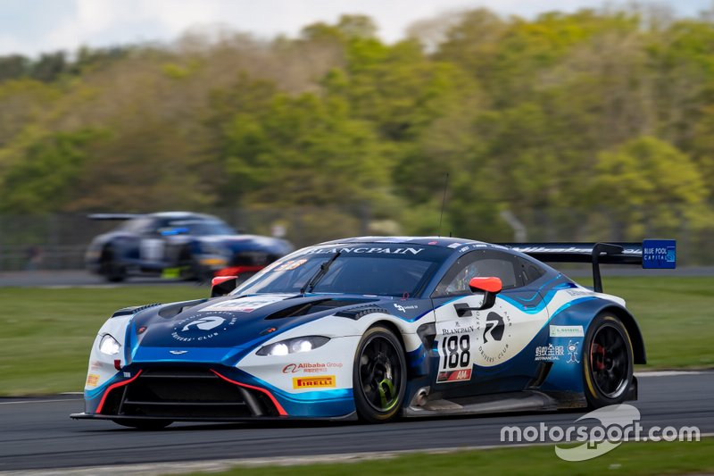 #188 Garage 59 Aston Martin Vantage AMR GT3: Chris Harris, Alexander West, Chris Goodwin