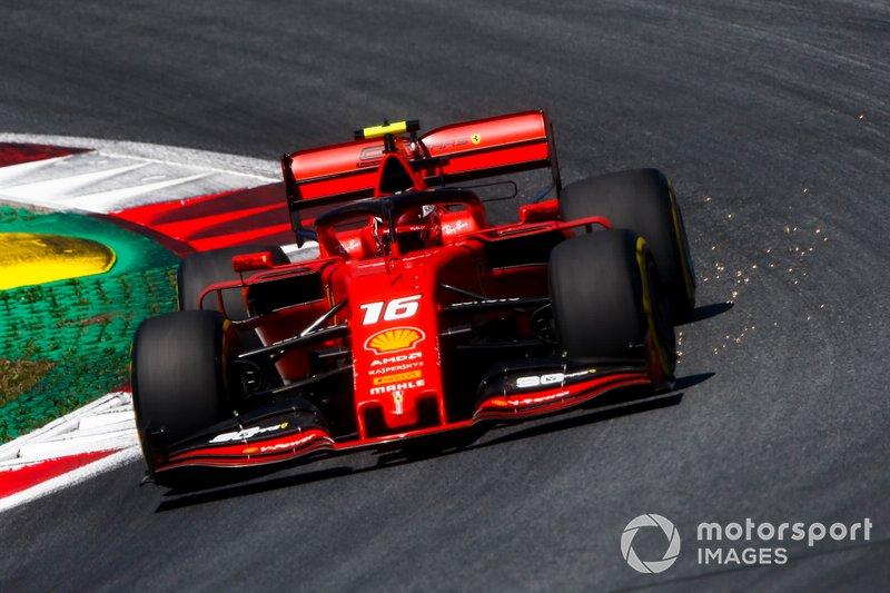 1: Charles Leclerc, Ferrari SF90, 1'03.003
