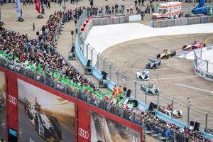 Daniel Abt, Audi Sport ABT Schaeffler, Audi e-tron FE05, Alex Lynn, Panasonic Jaguar Racing, Jaguar I-Type 3, Antonio Felix da Costa, BMW I Andretti Motorsports, BMW iFE.18, Gary Paffett, HWA Racelab, VFE-05, Jean-Eric Vergne, DS TECHEETAH, DS E-Tense FE19, Pascal Wehrlein, Mahindra Racing, M5 Electro