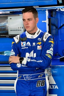 Alex Bowman, Hendrick Motorsports, Chevrolet Camaro Nationwide Patriotic