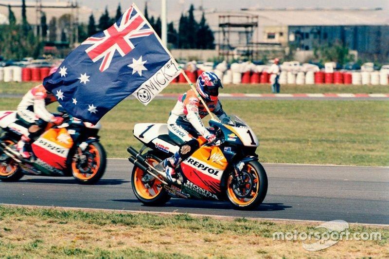 Mick Doohan, hasta el momento, el piloto con más victorias para Honda