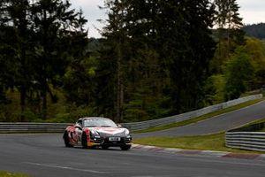 #134 Team Avia Sorg Rennsport Porsche Cayman S: Alberto Carobbio, Ugo Vicenzi, Murat Ates