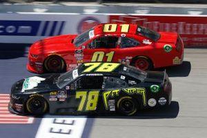 Vinnie Miller, B.J. McLeod Motorsports, Chevrolet Camaro Koolbox Stephen Leicht, JD Motorsports, Chevrolet Camaro teamjdmotorsports.com