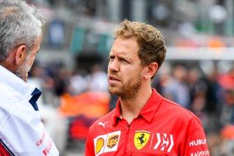 Sebastian Vettel, Ferrari y Beat Zehnder, Alfa Romeo Racing