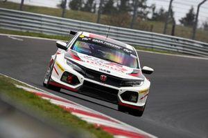 #835 Honda Civic TCR: Dominik Fugel, Tiago Monteiro, Markus Oestreich