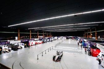Il pit building nel Bern Expo