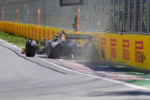 Kevin Magnussen, Haas VF-19 crash
