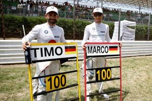 100th races for Timo Glock, BMW Team RMG and Marco Wittmann, BMW Team RMG