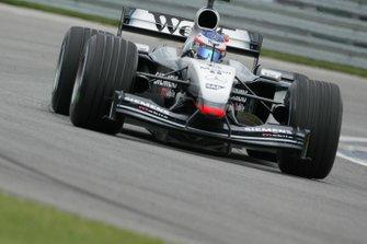 Kimi Raikkonen, McLaren Mercedes MP4/17D